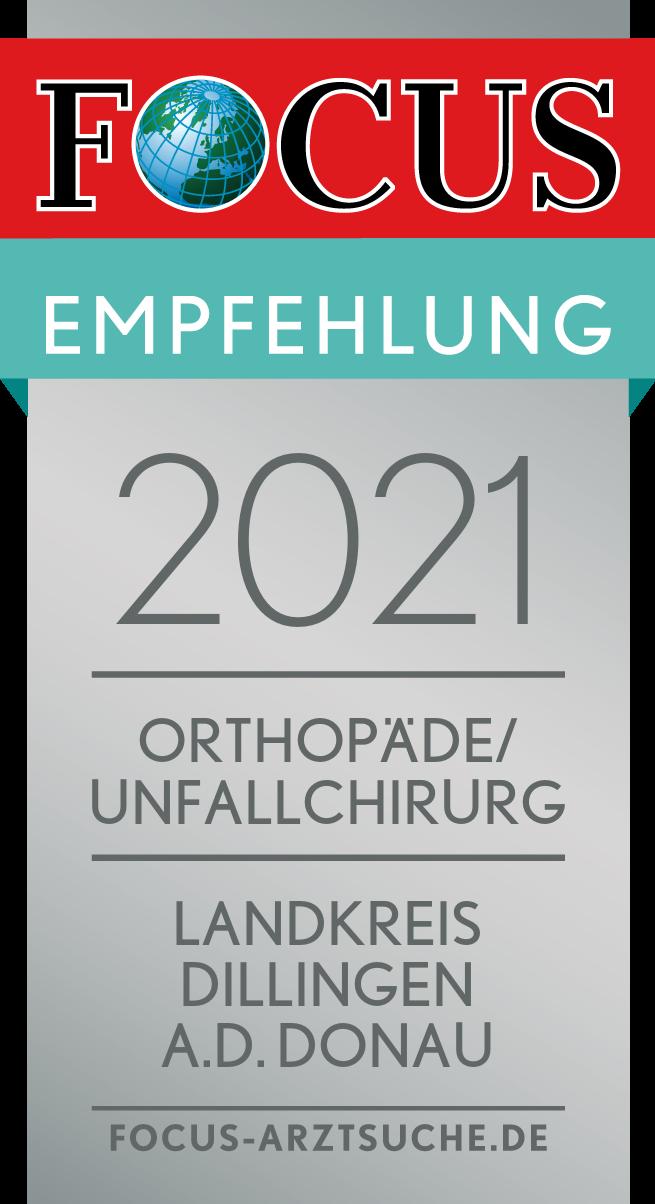 2021_OrthopädeUnfallchirurg_Dillingen a.d. Donau